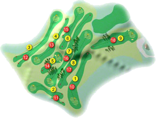 Aughnacloy Golf Course Layout