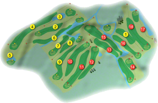Balcarrick Golf Course Layout
