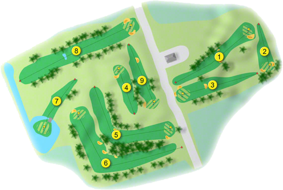 Ballymote Golf Course Layout