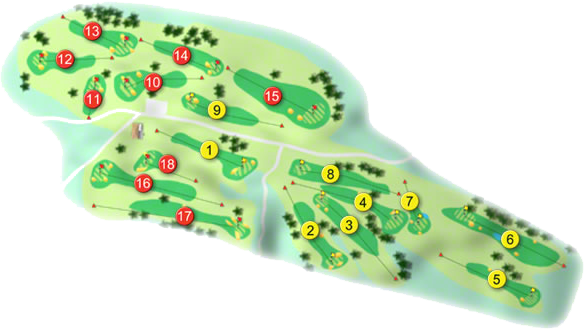 Bandon Golf Course Layout