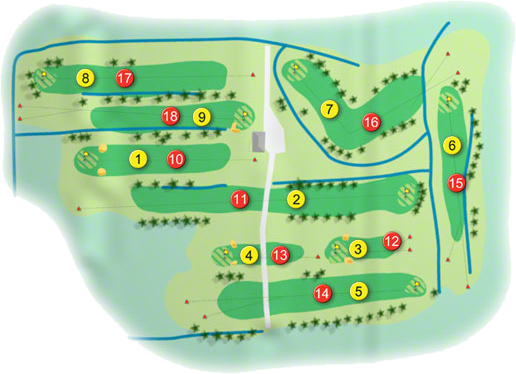 Boyle Golf Course Layout