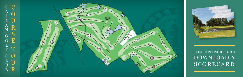 Callan Golf Course Layout