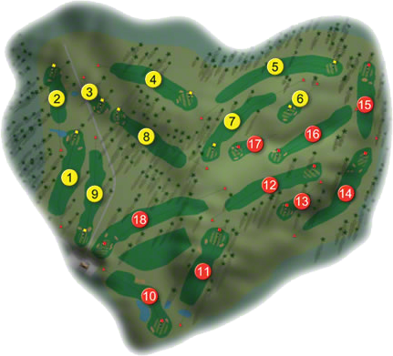 Carlow Golf Course Layout