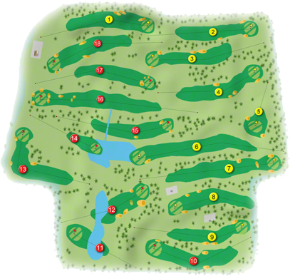 Castletroy Golf Course Layout