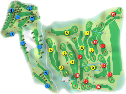 Charleville Golf Course Layout