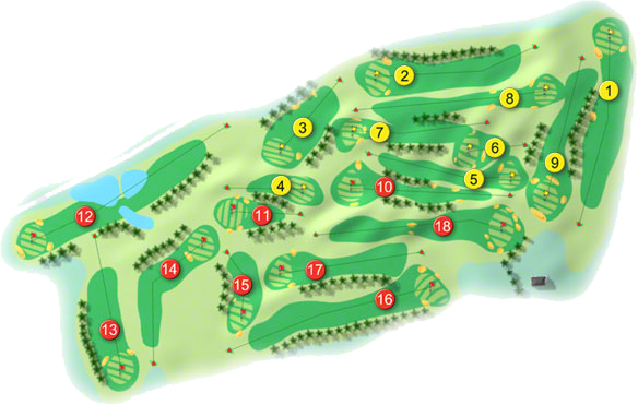 Clontarf Golf Course Layout