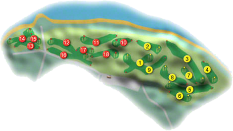 Corballis Links Golf Course Layout