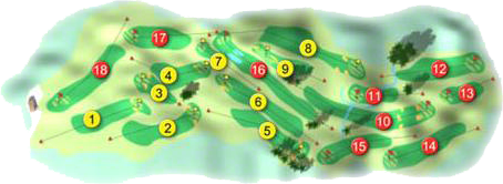 County Armagh Golf Course Layout