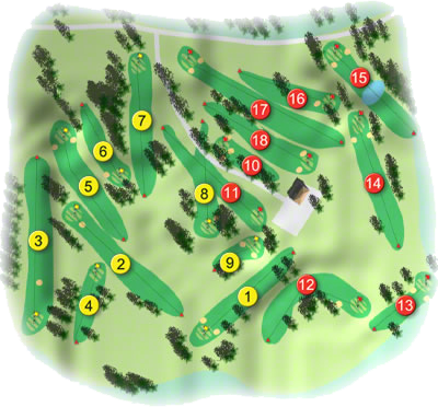 County Cavan Golf Course Layout