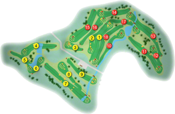 County Tipperary Golf Course Layout