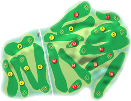 Donaghadee Golf Course Layout