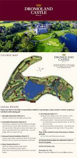 Dromoland Castle Golf Course Layout