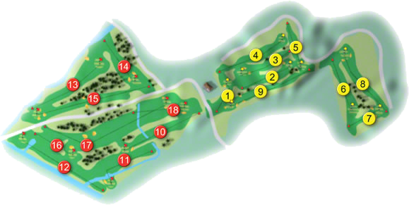 East Cork Golf Course Layout