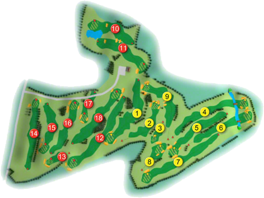 Edmondstown Golf Course Layout