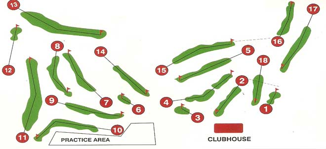 Enniscorthy Golf Course Layout