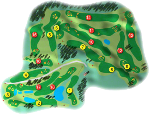 Faithlegg Golf Course Layout