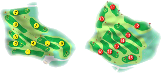 Fermoy Golf Course Layout