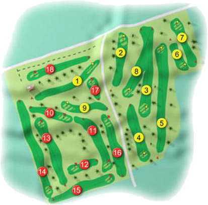 Fortwilliam Golf Course Layout