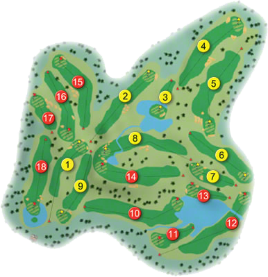 Fota Island Golf Course Layout
