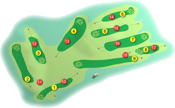 Foxrock Golf Course Layout