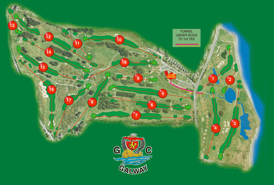 Galway Golf Course Layout