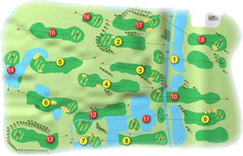 Gracehill Golf Course Layout