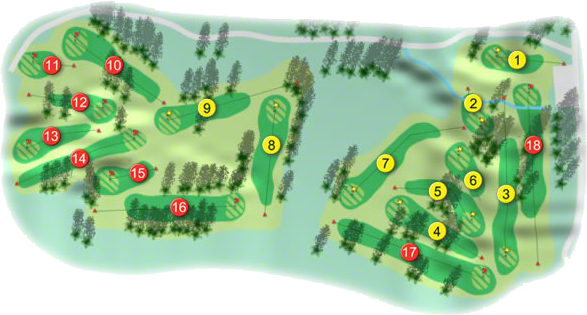 Grange Golf Course Layout