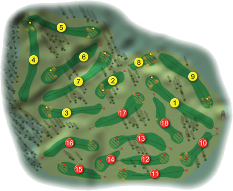 Headfort Golf Course Layout
