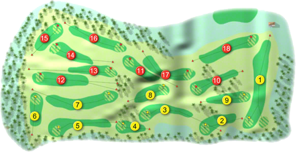 Howth Golf Course Layout