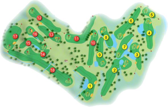 Letterkenny Golf Course Layout