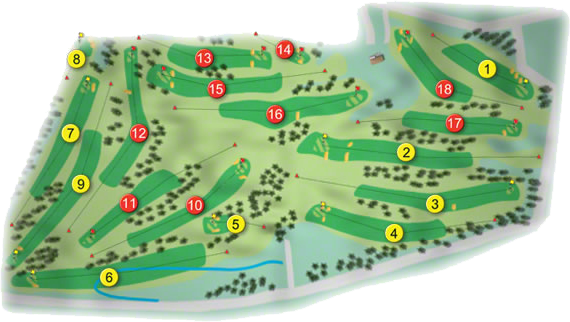 Limerick Golf Course Layout