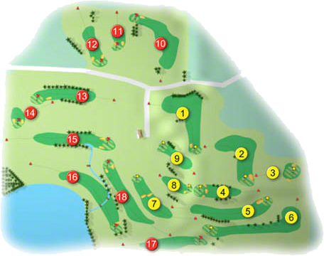 Massereene Golf Course Layout