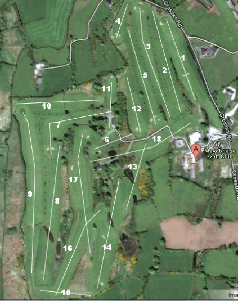 Mayobridge Golf Course Layout