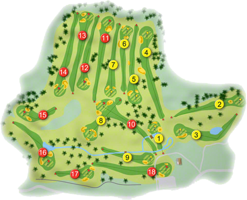 Mount Temple Golf Course Layout
