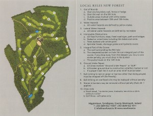 New Forest Golf Course Layout
