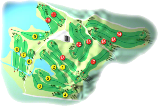Nuremore Golf Course Layout