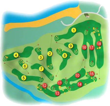 Portstewart Golf Course Layout