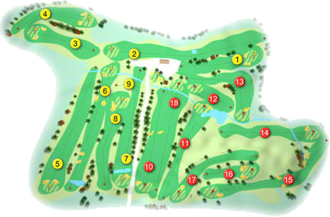 Rockmount Golf Course Layout