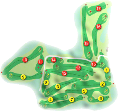 Roscrea Golf Course Layout