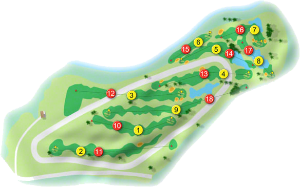 Ross Golf Course Layout