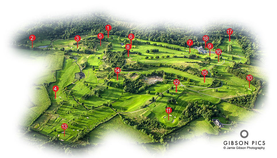 Rossmore Golf Course Layout