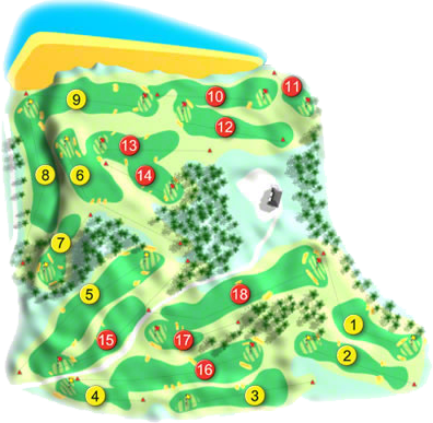 Royal Belfast Golf Course Layout