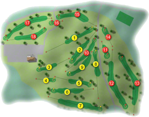 Royal Curragh Golf Course Layout