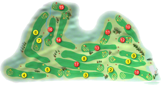 Skerries Golf Course Layout