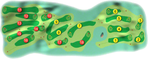 St. Anne's Golf Course Layout