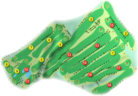 St. Patrick's Golf Course Layout