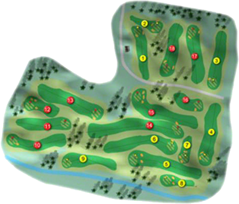 Strabane Golf Course Layout