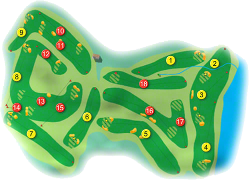 Strandhill Golf Course Layout