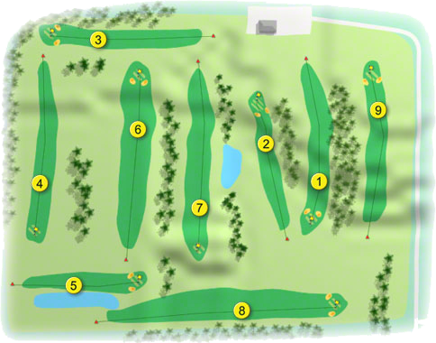 Strokestown Golf Course Layout