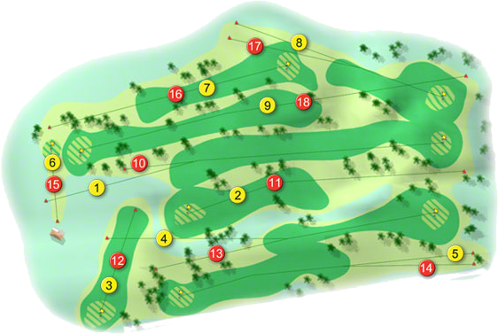 Templemore Golf Course Layout